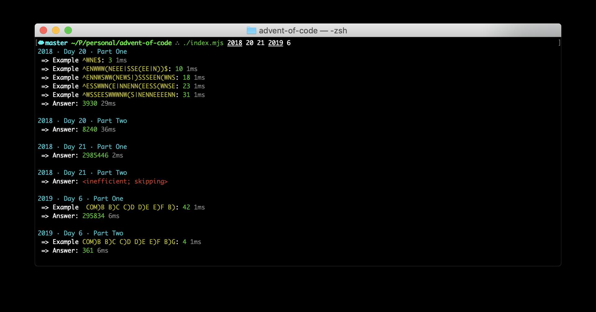 Advent of Code
