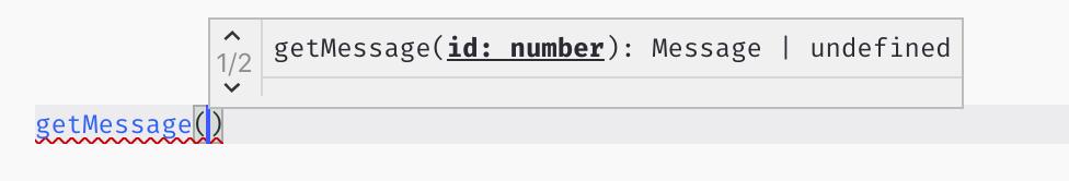 实现 TypeScript 的重载后调用时的自动提示