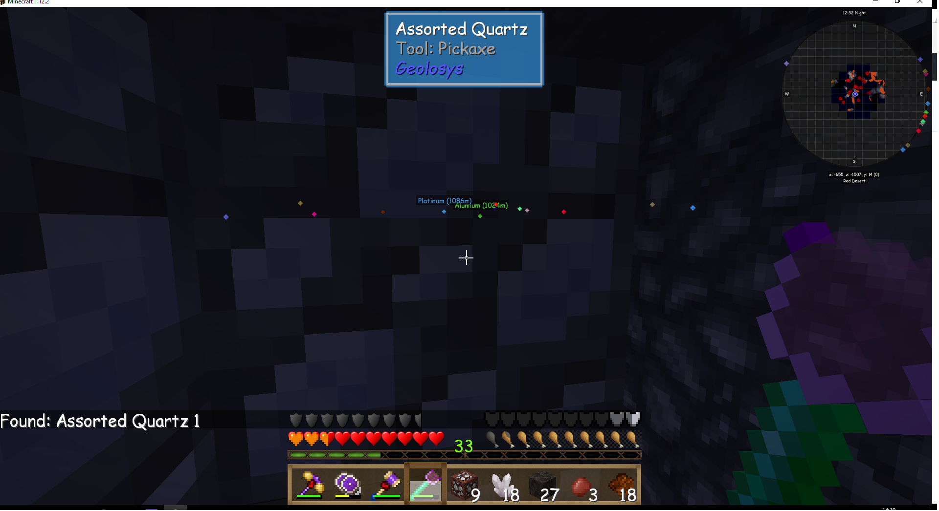 Assorted quartz only give nether quartz · Issue #1398