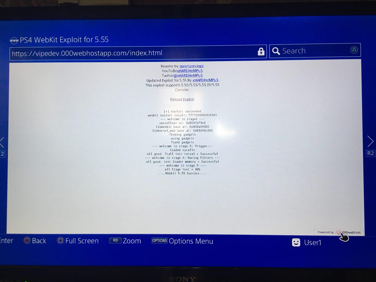 PS4 5 5x exploit support · Issue #135 · Al-Azif/ps4-exploit-host