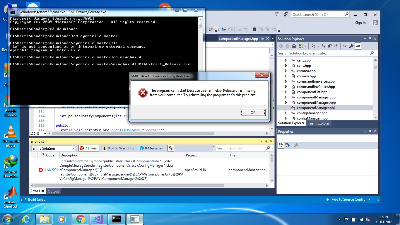 installation errors in openSmile · Issue #1 · naxingyu
