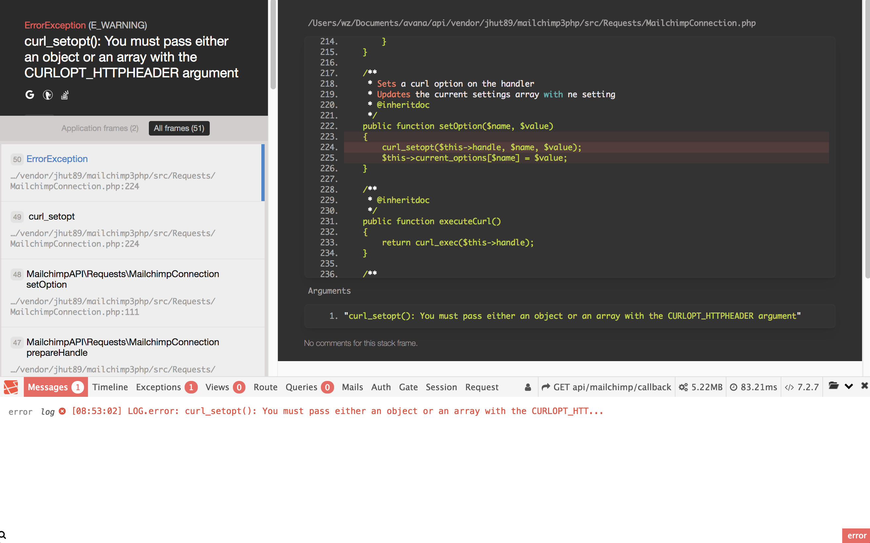 Oauth error · Issue #52 · Jhut89/Mailchimp-API-3 0-PHP · GitHub