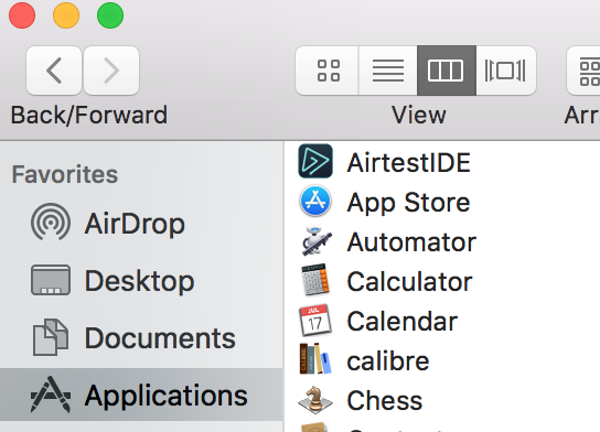 I need step by step process to install AirTest IDE on Mac OS