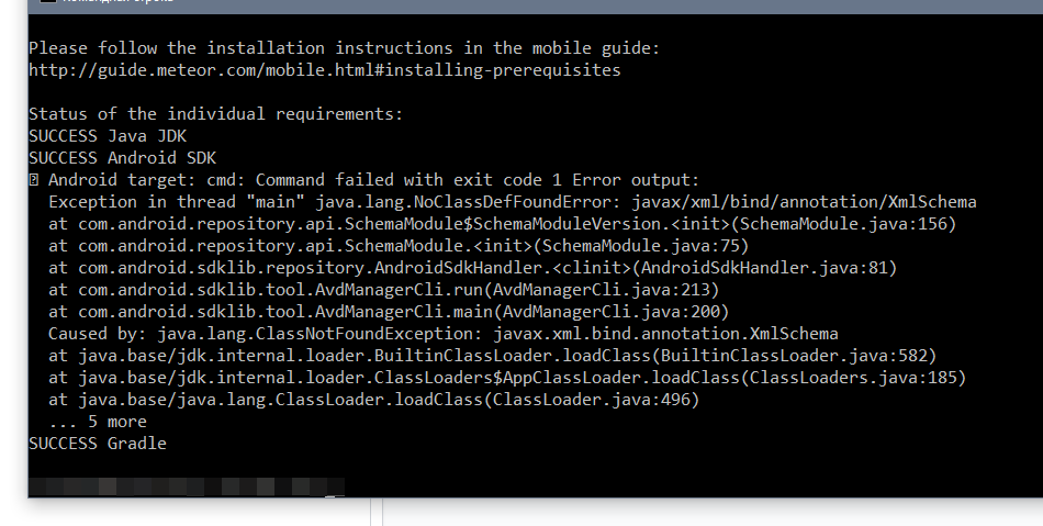 1 4 3 1] Android SDK not found with Android SDK 25 3 0 or