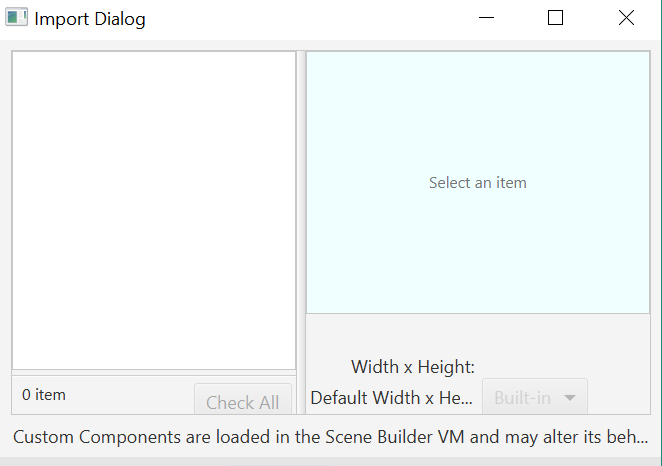 Javafx Tableview Scrolling