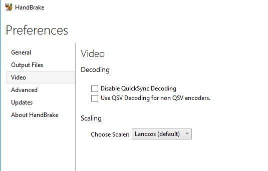 Intel Skylake QuickSync encoding not available · Issue #1260