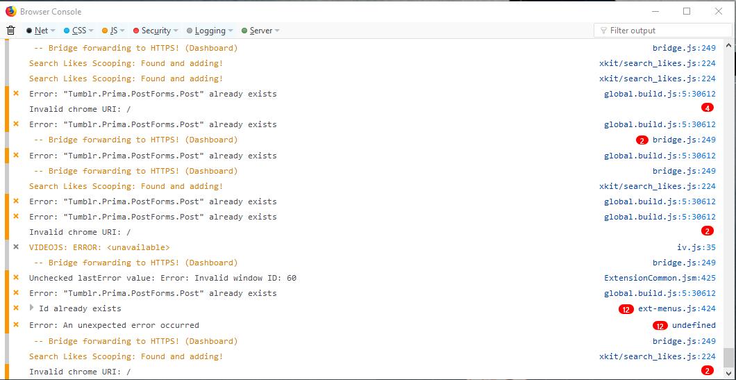 Search Likes Addon is broken for Firefox 59 0 2 (64-Bit