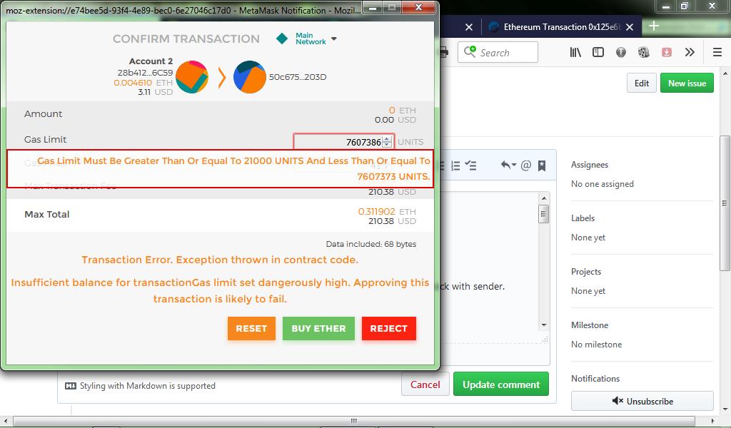Token Transfer error · Issue #839 · poanetwork/token-wizard