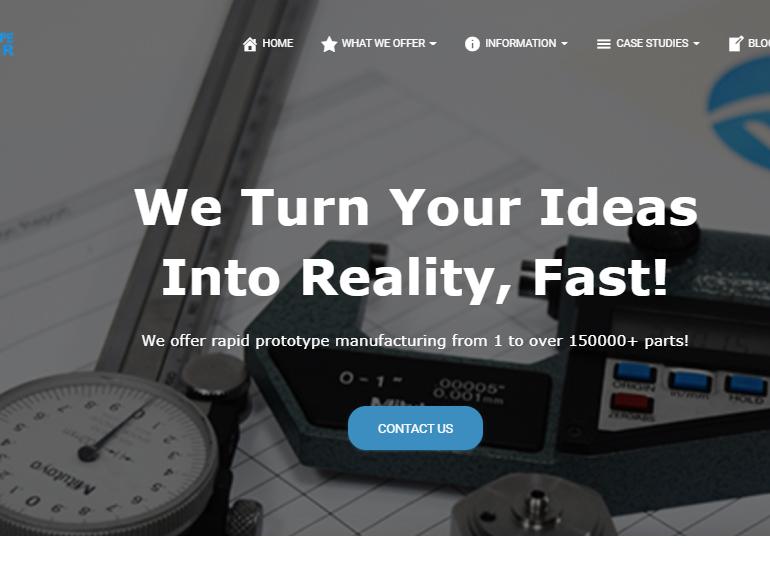 Prototyping Website