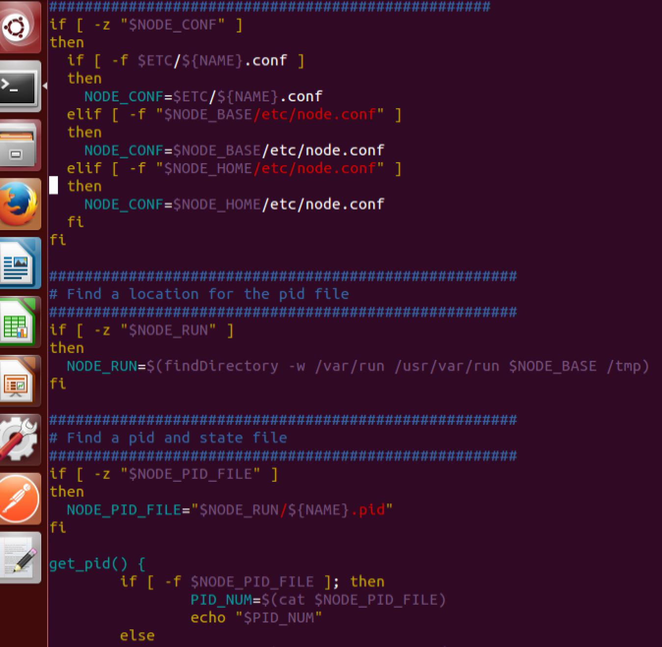 Update node passport init d script · Issue #420