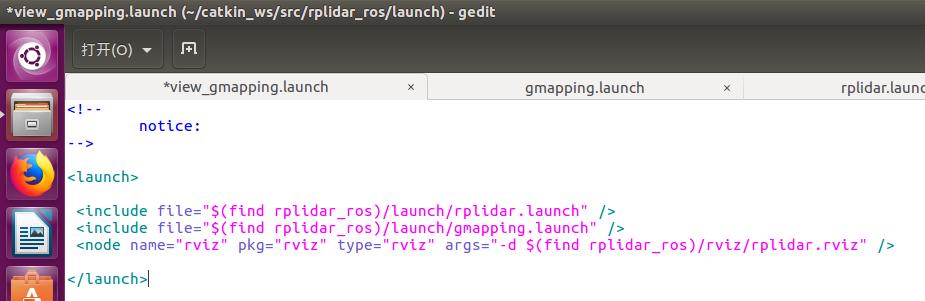 Rplidar Gmapping