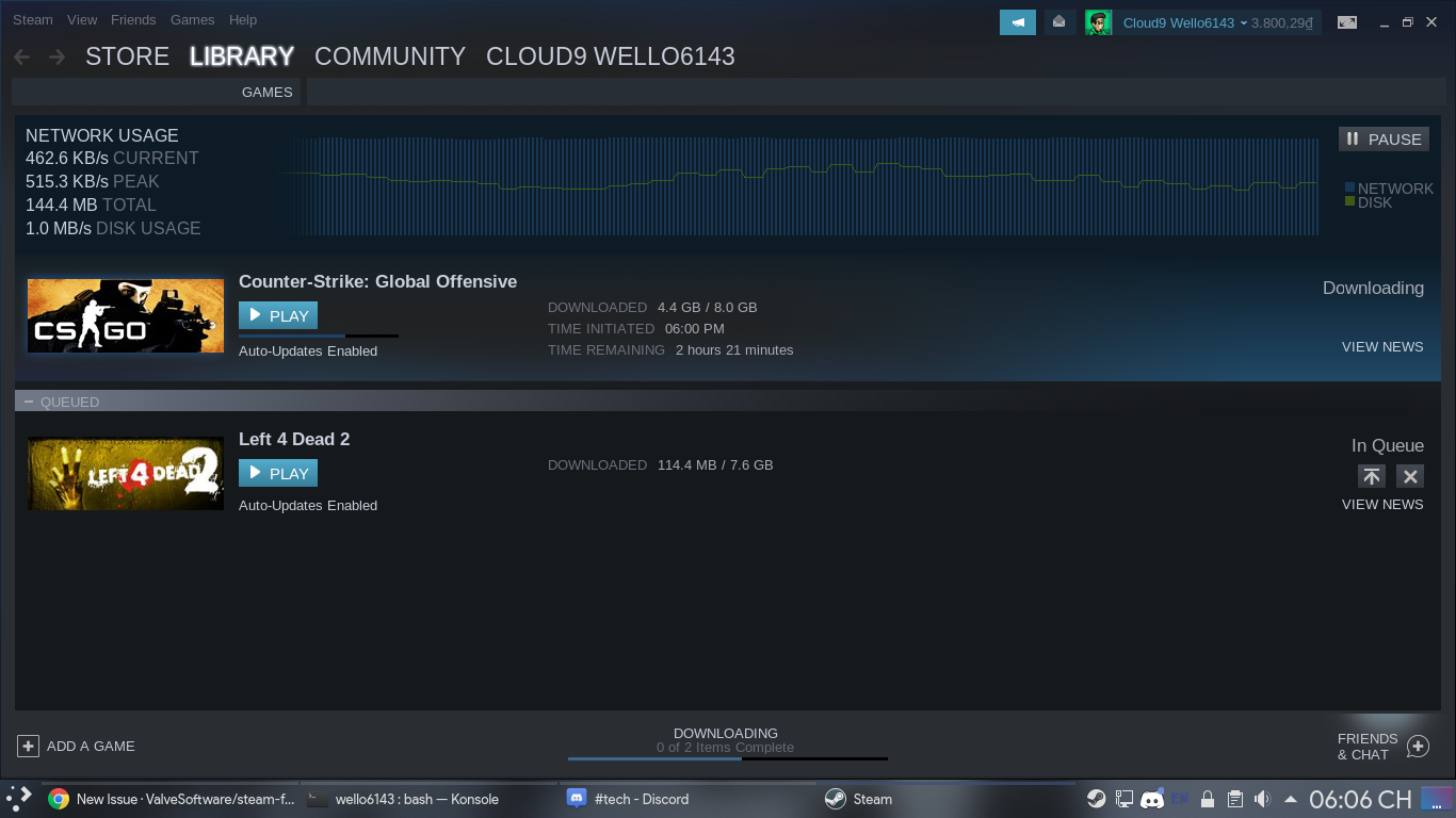 Steam client download very slow · Issue #6176