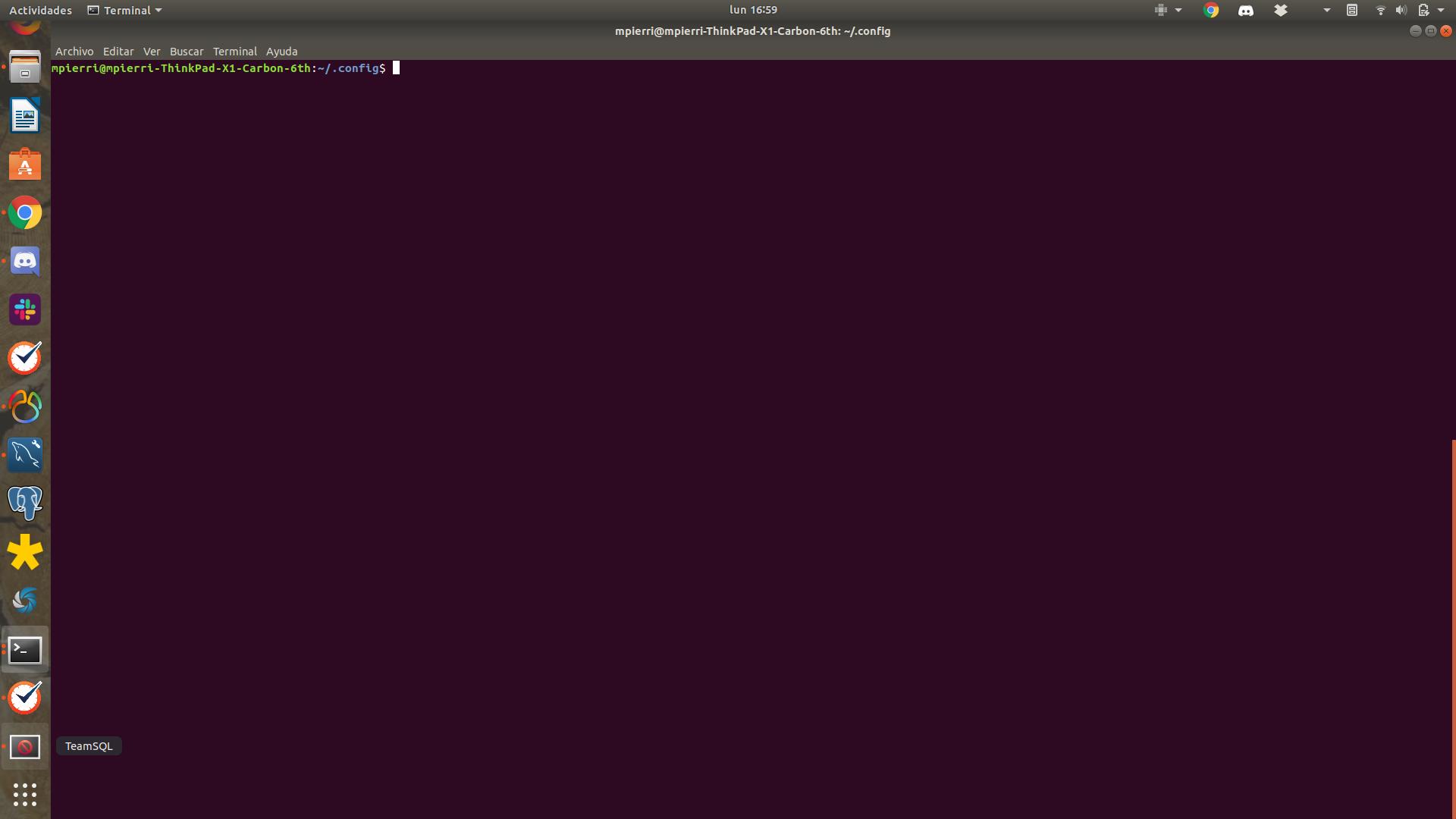 Team Sql Linux