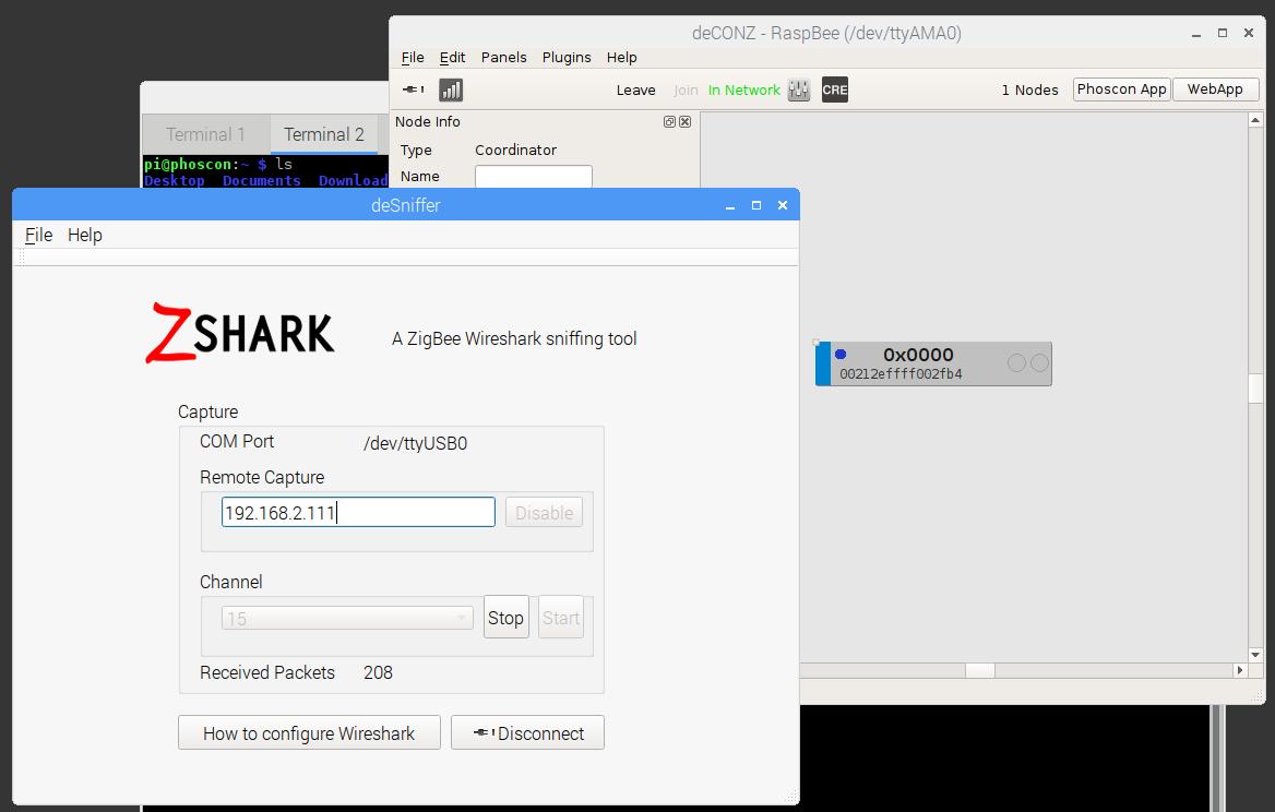 Announcement: ZSHARK - Wireshark Sniffer for ConBee (Beta