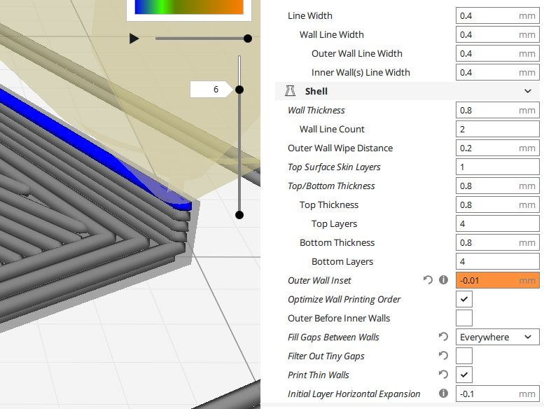 Three perimeter (1 2mm) wall · Issue #3605 · Ultimaker/Cura · GitHub