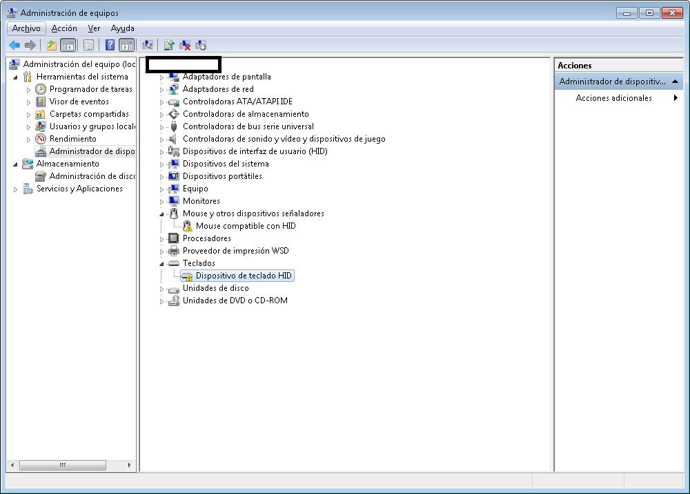 Mouse & Keyboard USB not working login screen Windows 7 4 06
