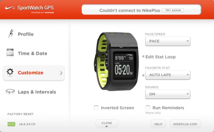 crema destacar lucha  Support for Nike+ GPS Watch ? · Issue #72 · ryanbinns/ttwatch · GitHub