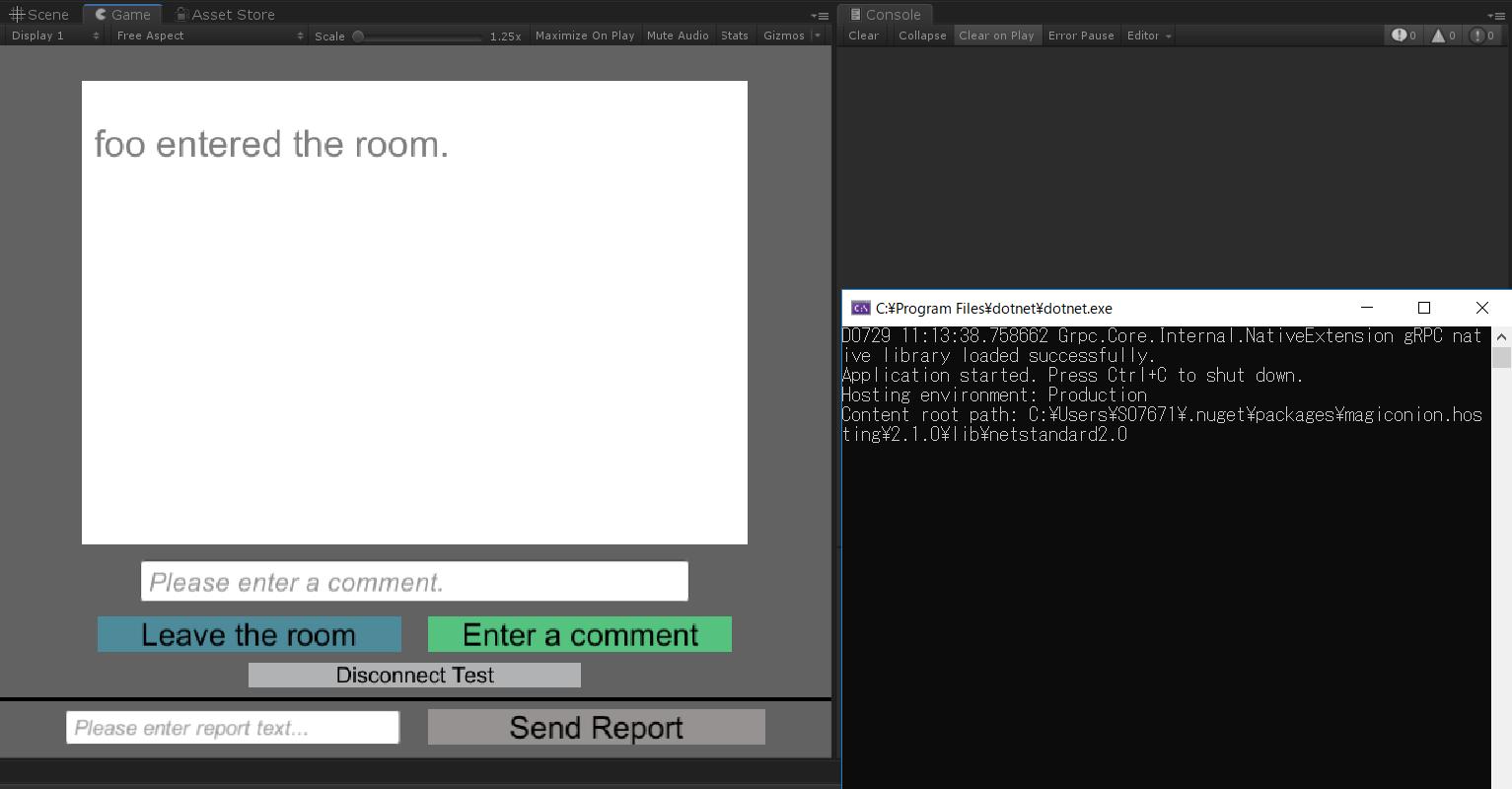 GitHub - Cysharp/MagicOnion: Unified Realtime/API Engine for