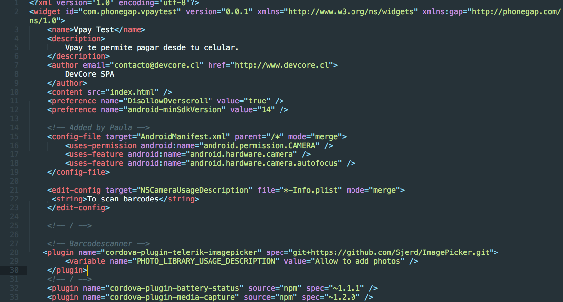 cordova plugin add https //github.com/cdibened/pdfviewer.git