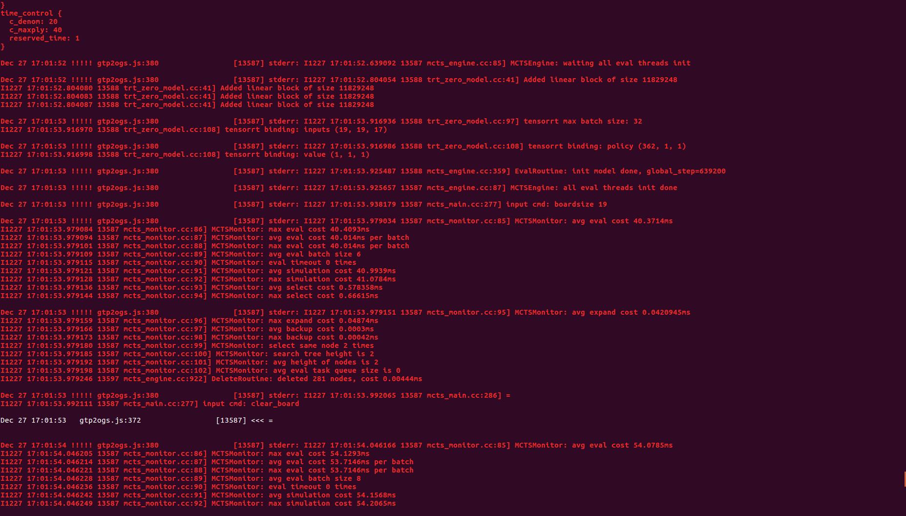 PyCUDA ubuntu custom max batch size : I tensorflow/core