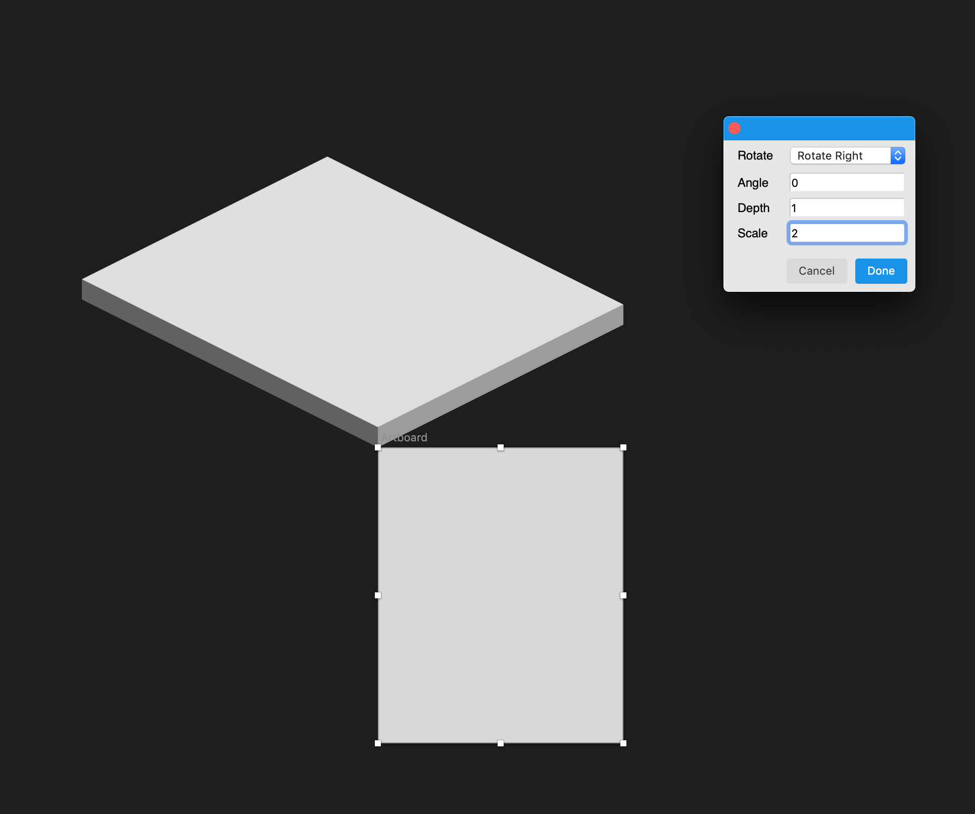 Plugin Sketch Isometric not working in version 53 · Issue