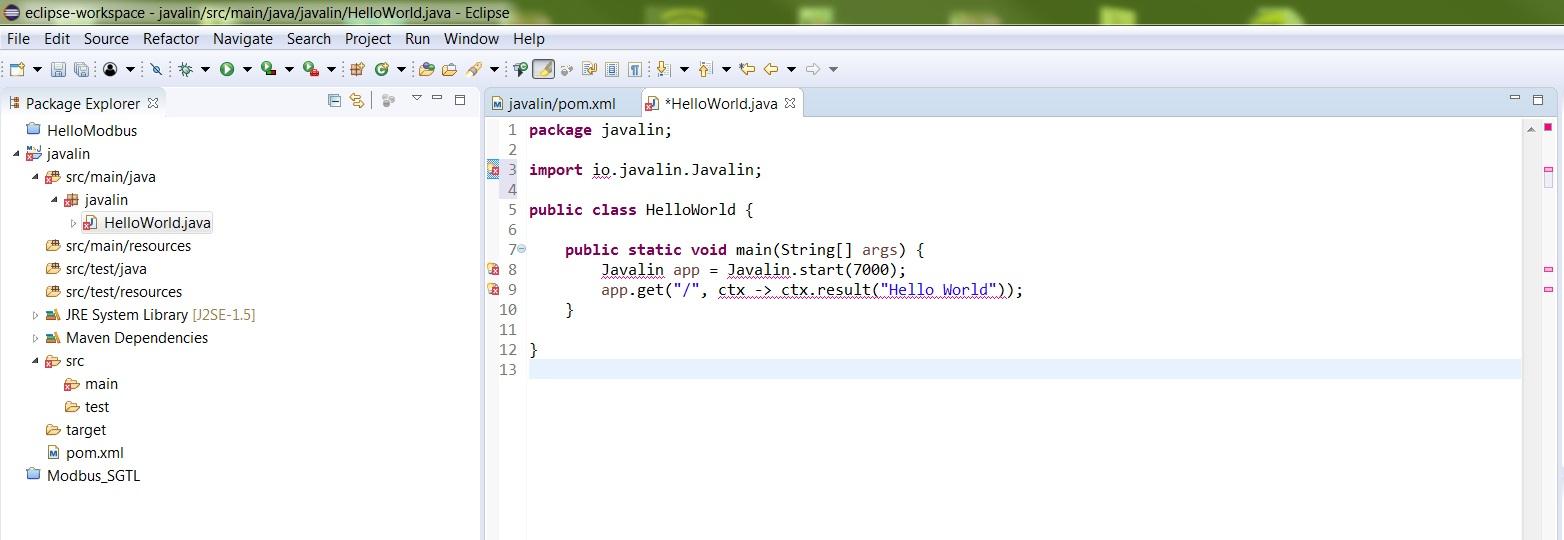 Tutorial Idea - Simple Tutorial · Issue #10 · javalin/javalin github