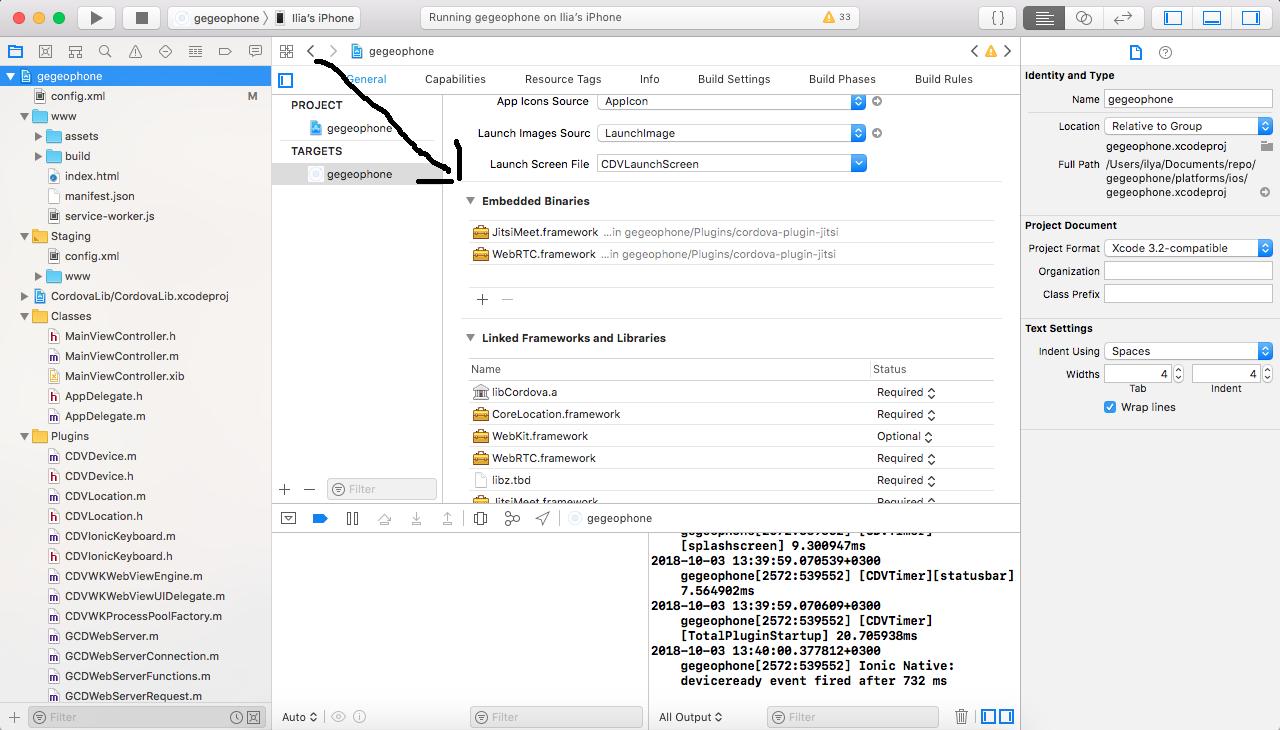Plugin doesn't work on ios · Issue #3 · gaganinvic/cordova