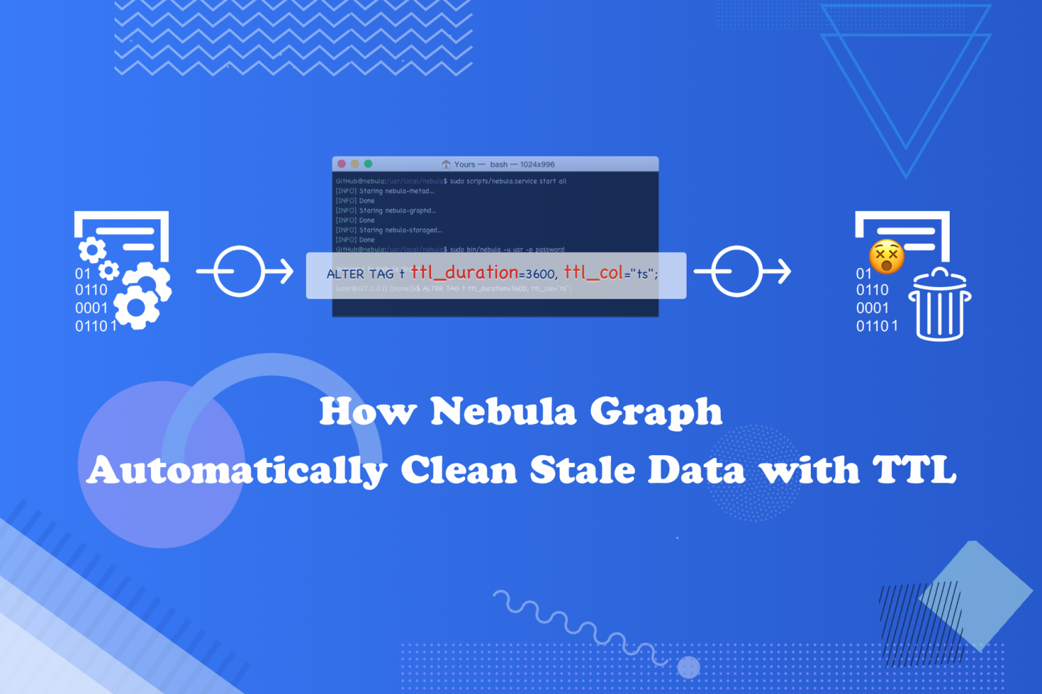 How Nebula Graph Automatically Cleans Stale Data with TTL
