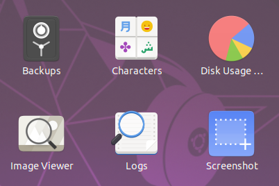 19 04 dailies: logs and system-monitor are suddenly upsteam Gnome
