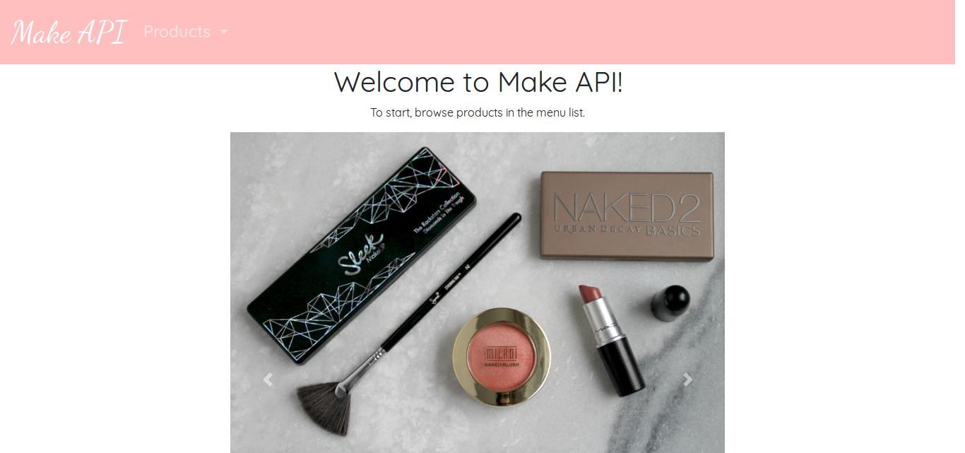 Make API