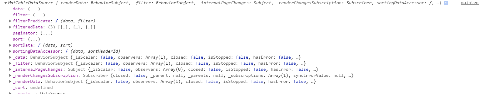 Table] MatTableDataSource does not properly sort null/undefined
