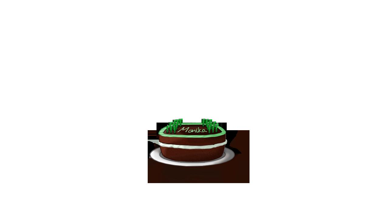 Art The Monikas Birthday Cake Issue 2372 Monika After Story