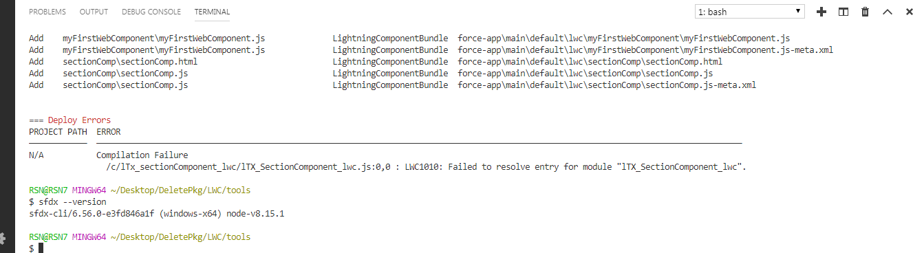 Unable to deploy component with special name · Issue #1185