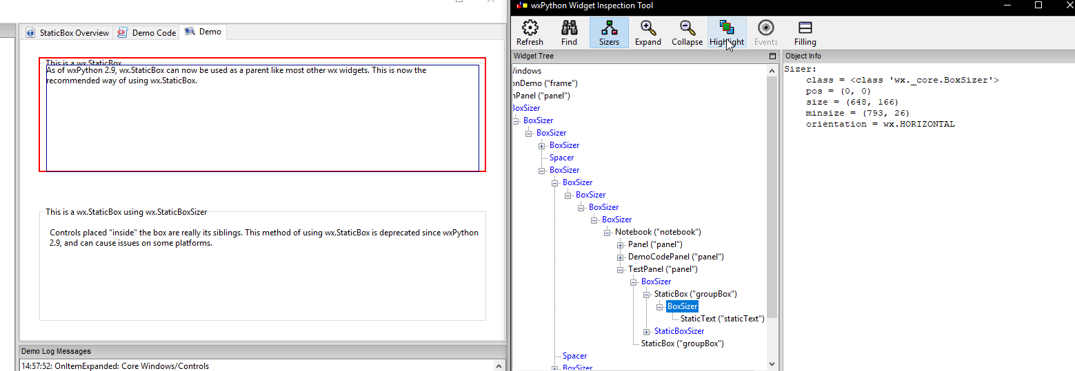wx StaticBox positioning issue · Issue #974 · wxWidgets/Phoenix · GitHub
