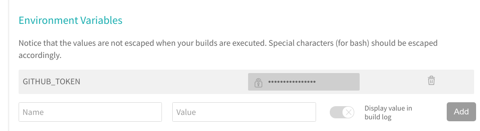 401 bad credentials when deploying to GitHub releases