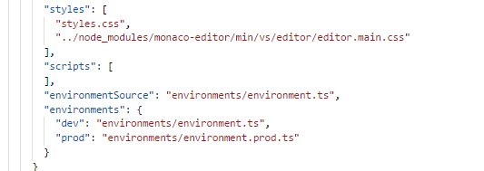 Diff editor's UI is not proper when integrating with Angular · Issue
