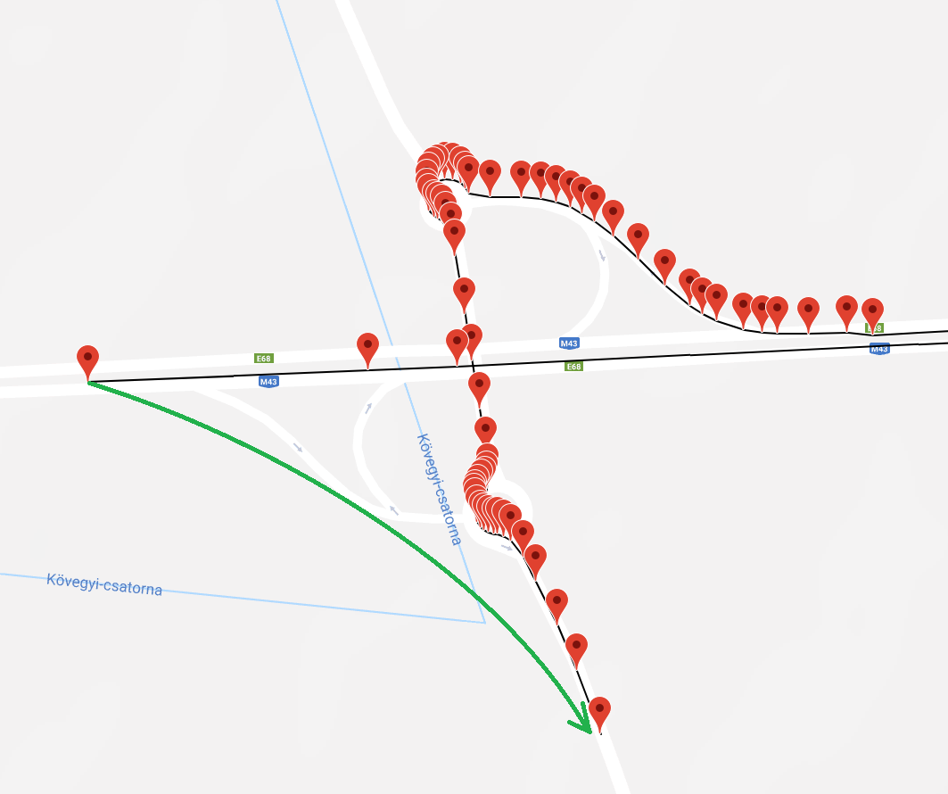 Routing from exact node location · Issue #5073 · Project