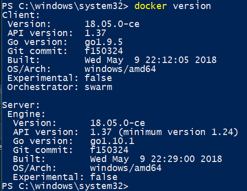 Internal Host DNS cannot be resolved (Windows Container 1803