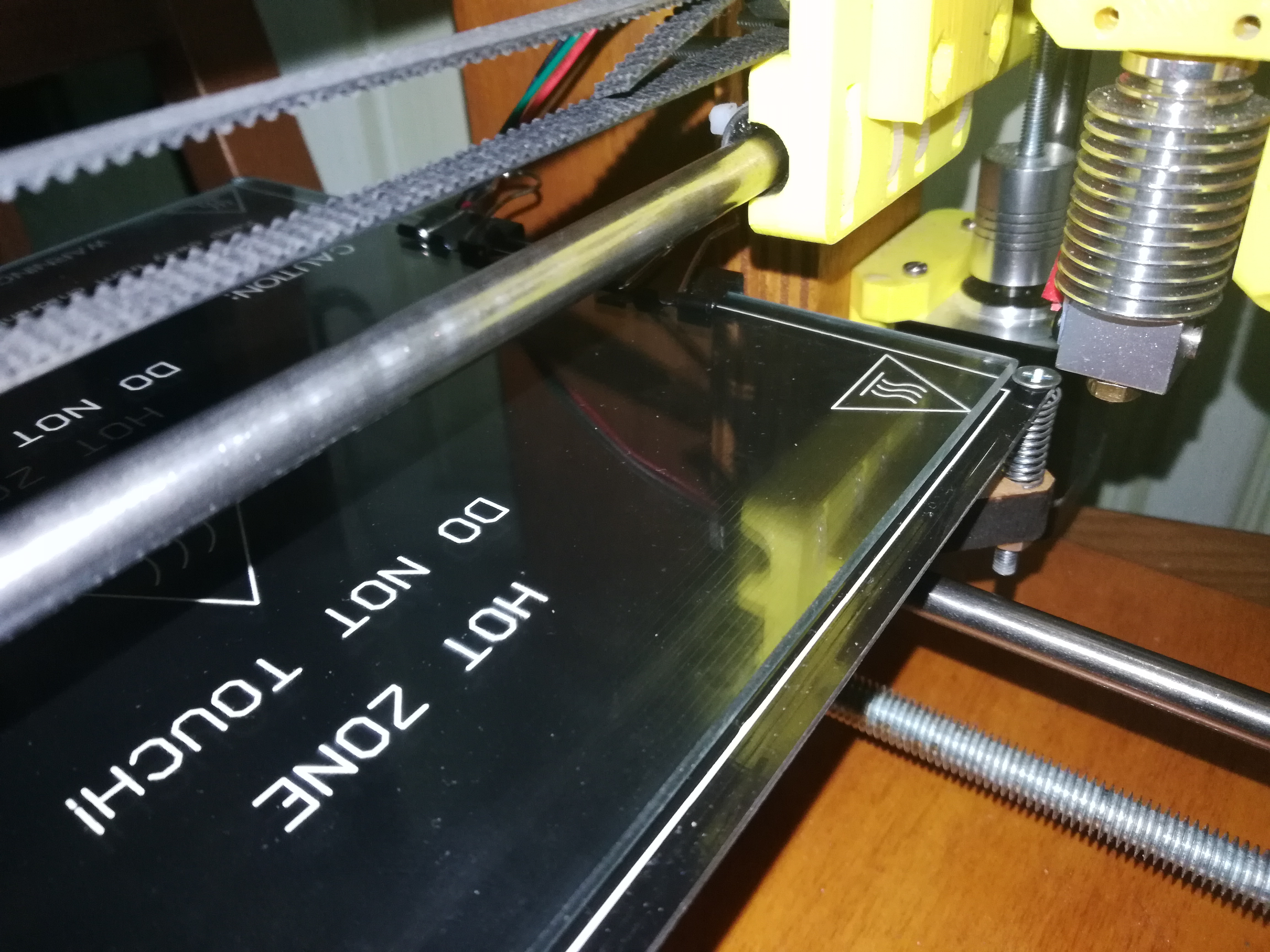 problem to set axis to homing position (prusa i3) · Issue