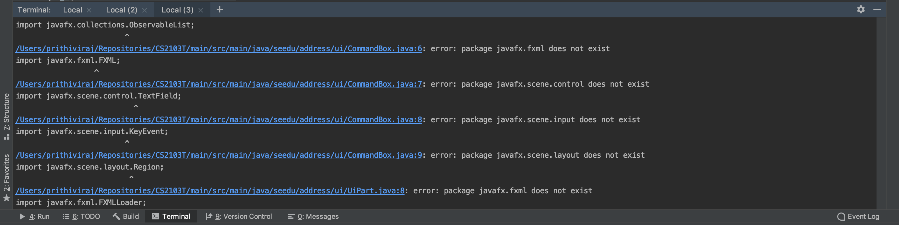 Gradle shadowJar cannot resolve JavaFX Packages  · Issue #70 · nus