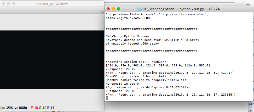 camera init error · Issue #4 · CityScope/CS_Scanner_Python