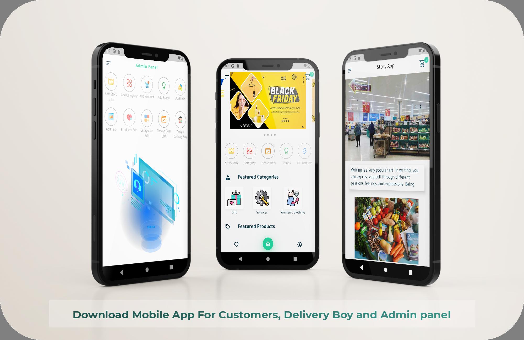 Grocery, Pharmacy, Store Mobile App - 2