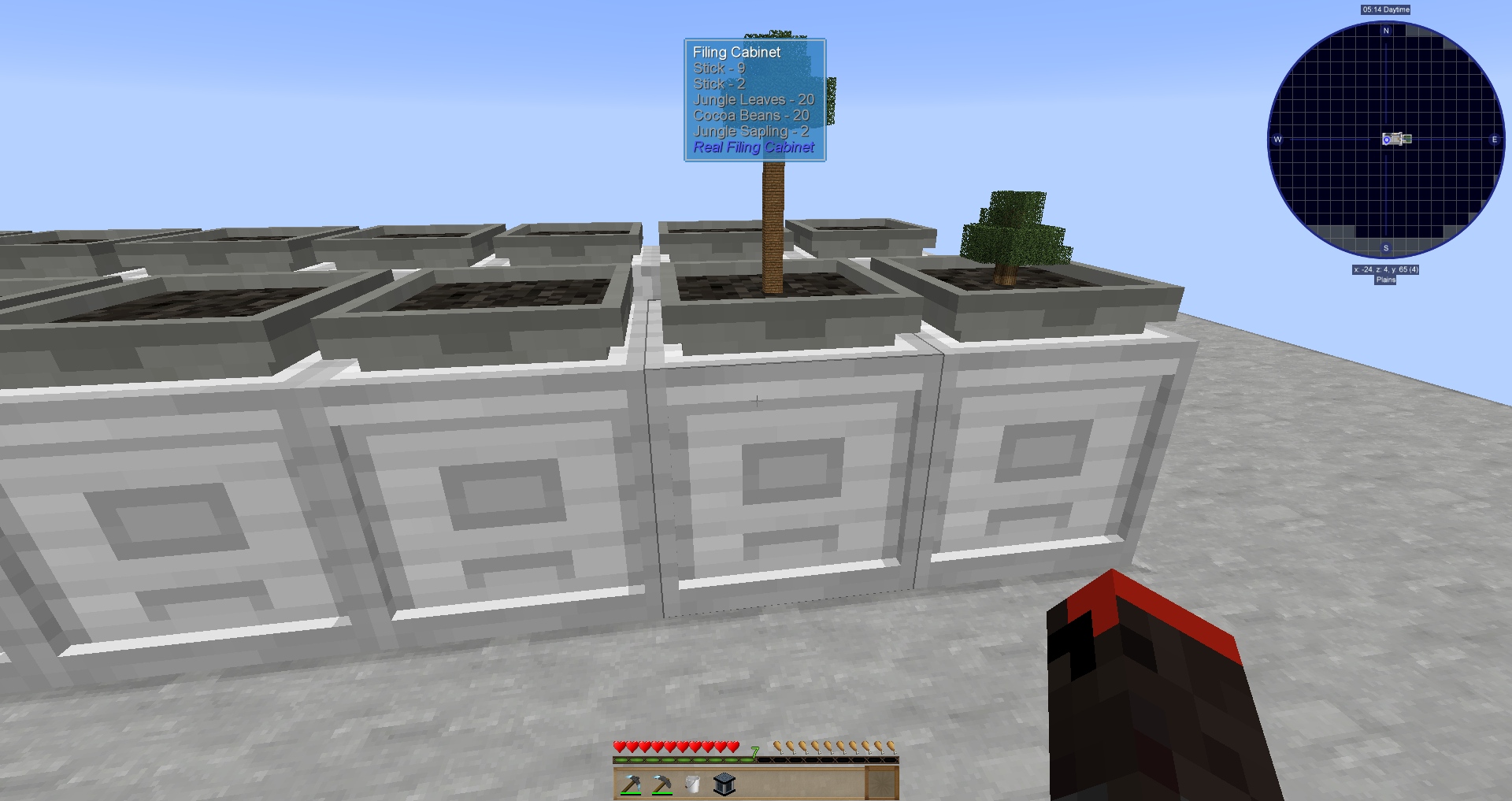 Hopper Bonsai Jungle Sapling And Filing Cabinet With The Correct Folders In It Issue 28 Darkpacks Skyfactory 4 Github