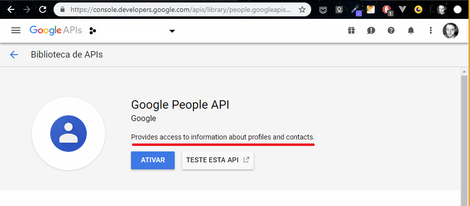 Avatar from Google does not get displayed any more due to