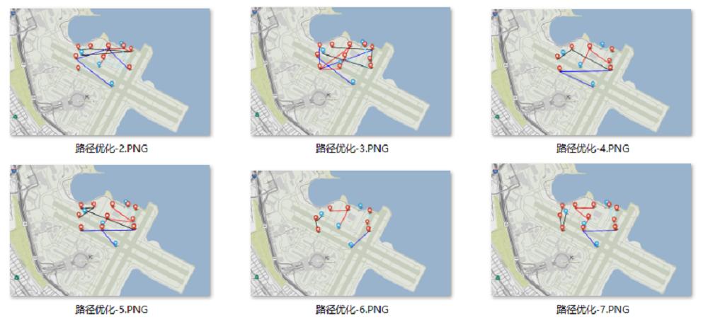 路径优化效果图片