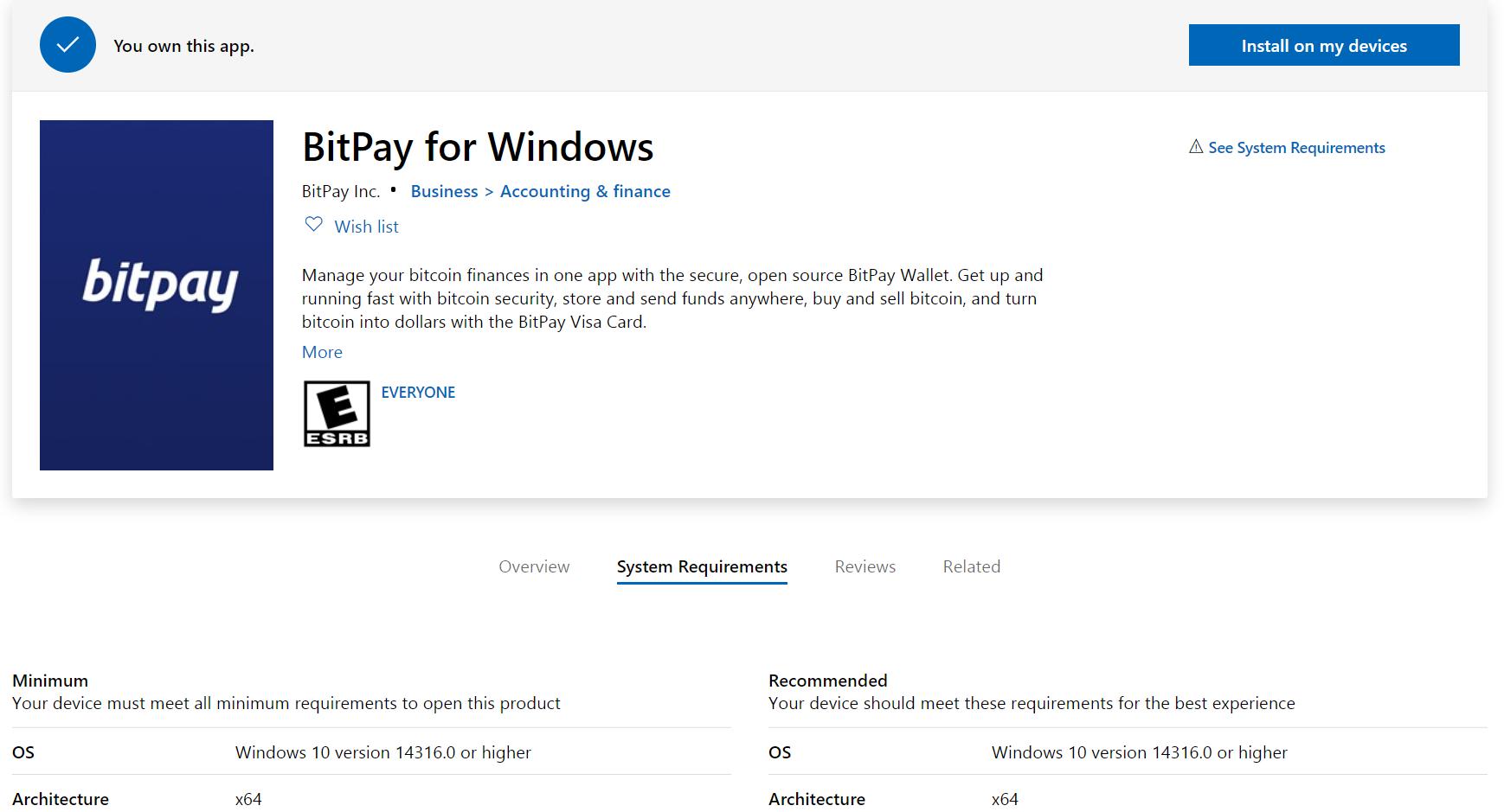 New desktop platform announcement  Windows 10 required