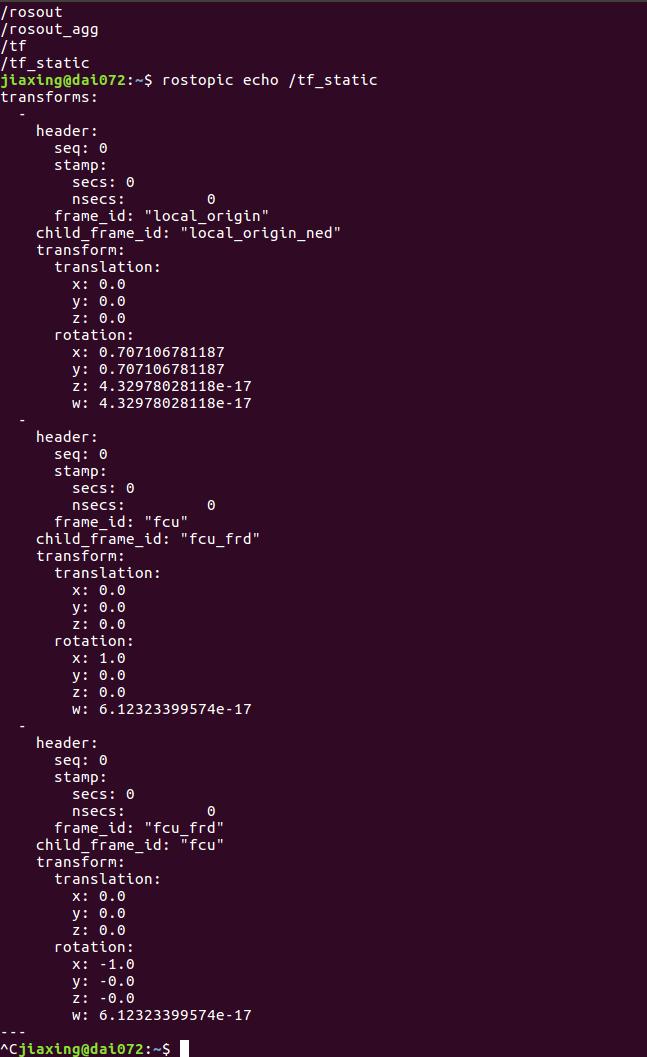 Redundant frames local_origin_ned and fcu_frd · Issue #1162