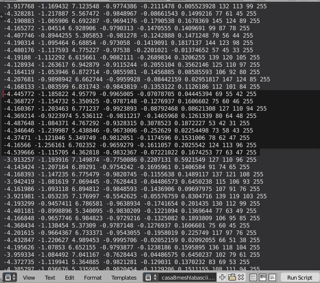 LIVENODING 707 / Point Cloud Import Vertex Color with