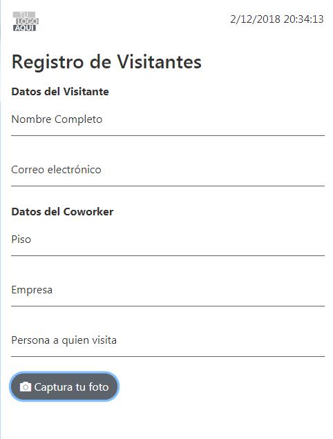 Visitor Registration App