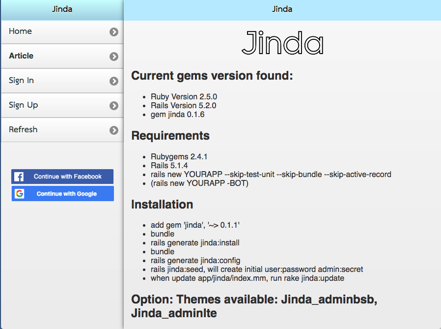 File: README — Documentation for jinda (0 3 9)